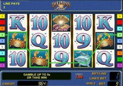 Игровые автоматы с моментальным выводом денег Dolphin`s Pearl