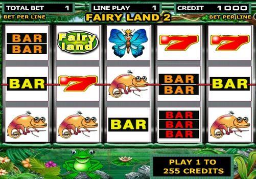 Игровые автоматы Fairy Land с быстрым выводом реальных денег