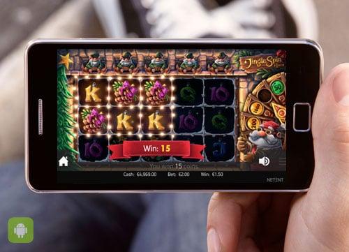 Игровые автоматы на Андроид на реальные деньги