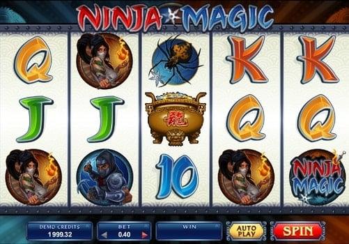 Игровые автоматы на реальные деньги с выводом - Ninja Magic