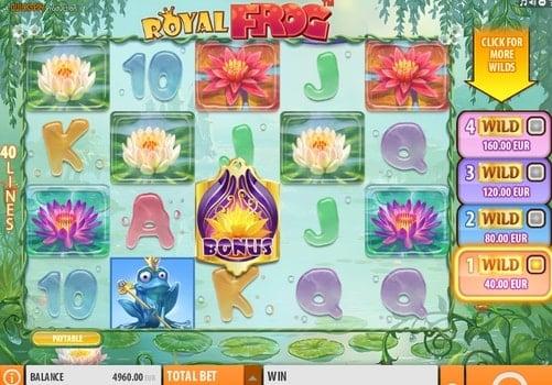 Игровые автоматы онлайн с выводом денег - Royal Frog