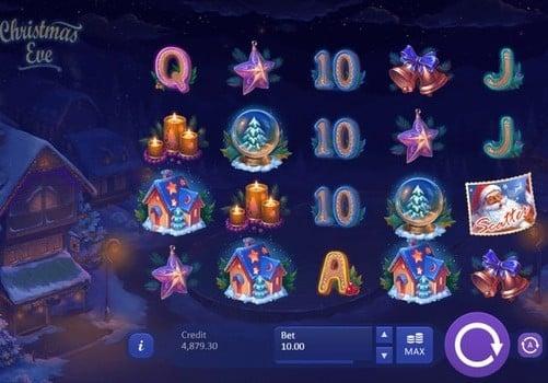 Игровые автоматы с реальным выводом денег Christmas Eve