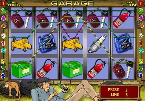 Игровые автоматы Garage на реальные деньги с выводом