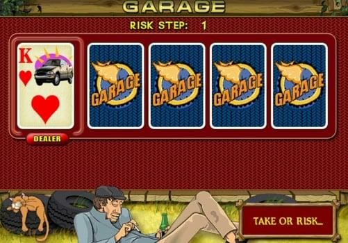 Играть в автомат с выводом денег Garage онлайн